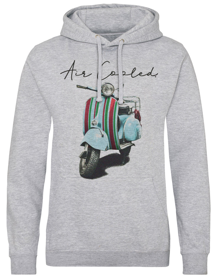 Air Cooled Scooter Stripes Hoodie