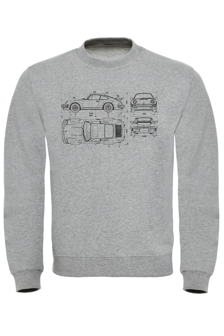 911 Blueprint Sweatshirt