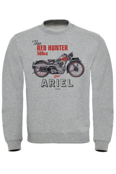 Ariel Red Hunter Sweatshirt