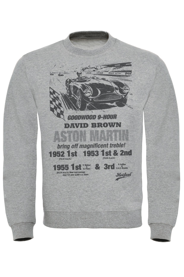 Aston Martin Goodwood Print Sweatshirt