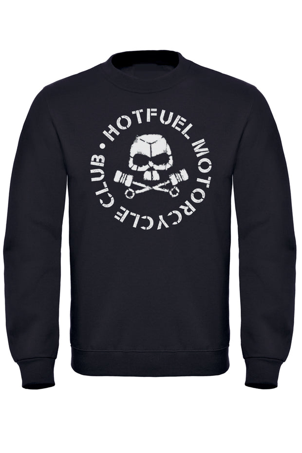 Hotfuel Motorcycle Club Skull Sweatshirt
