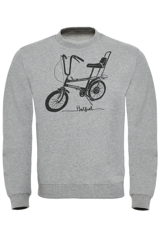 Hotfuel Chopper Cycle Print Sweatshirt