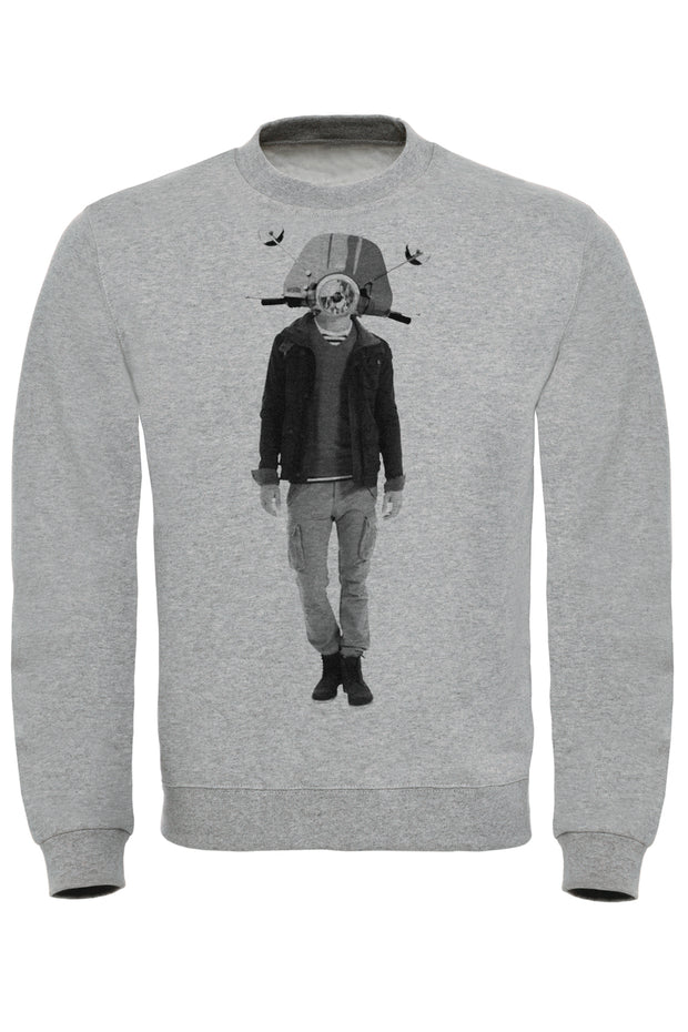 Scooter Head 2 Sweatshirt
