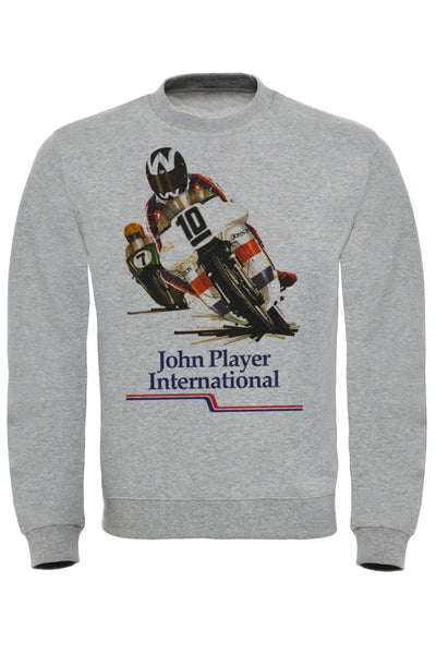 John Player Race Print Sweatshirt