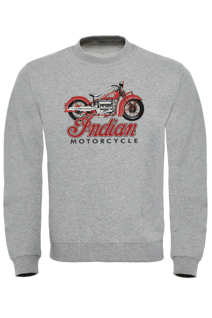Indian Motorcycle Print Sweatshirt