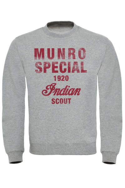 Munro Special Indian Scout Sweatshirt
