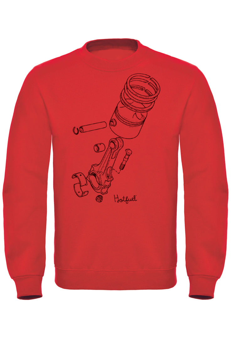 Hotfuel Exploded Piston Sweatshirt