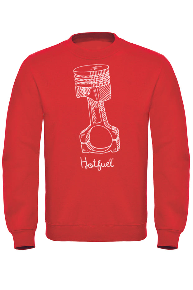Hotfuel Piston Print Sweatshirt