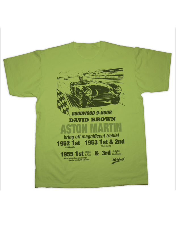 Aston Martin Goodwood Print T Shirt