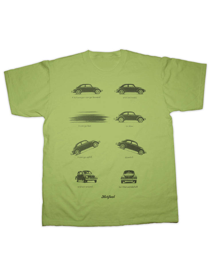 Beetle Actions Print T Shirt