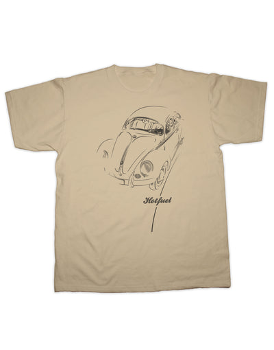 Beetle Driving Print T Shirt
