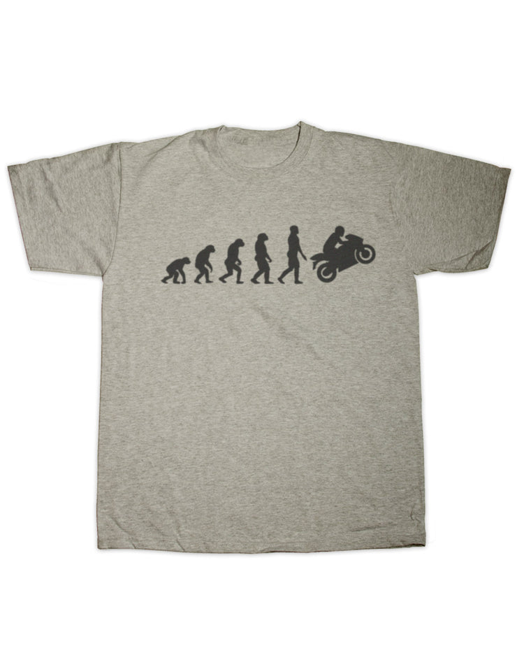 Motorcycle Evolution T Shirt