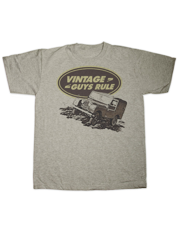 Vintage Guys Rule Off Road T Shirt