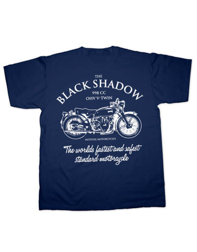 Black Shadow Worlds Fastest T Shirt