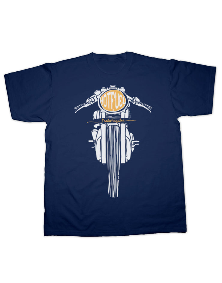 Hotfuel Cafe Racer Headlight T Shirt