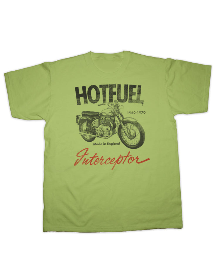 Hotfuel Interceptor Motorcycle T Shirt