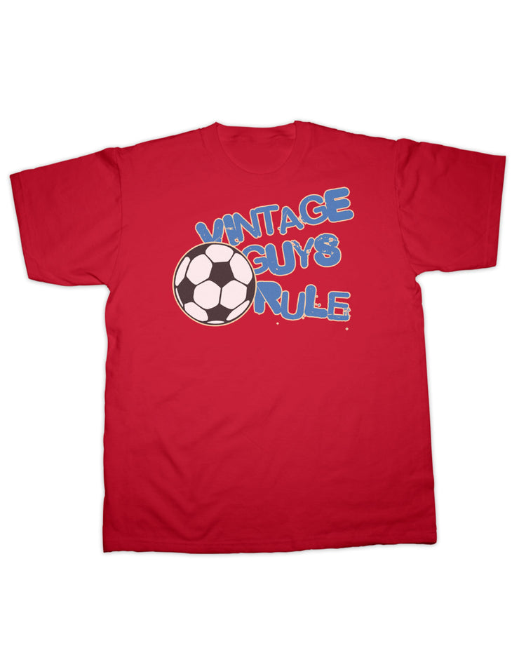 Vintage Guys Rule Football T Shirt