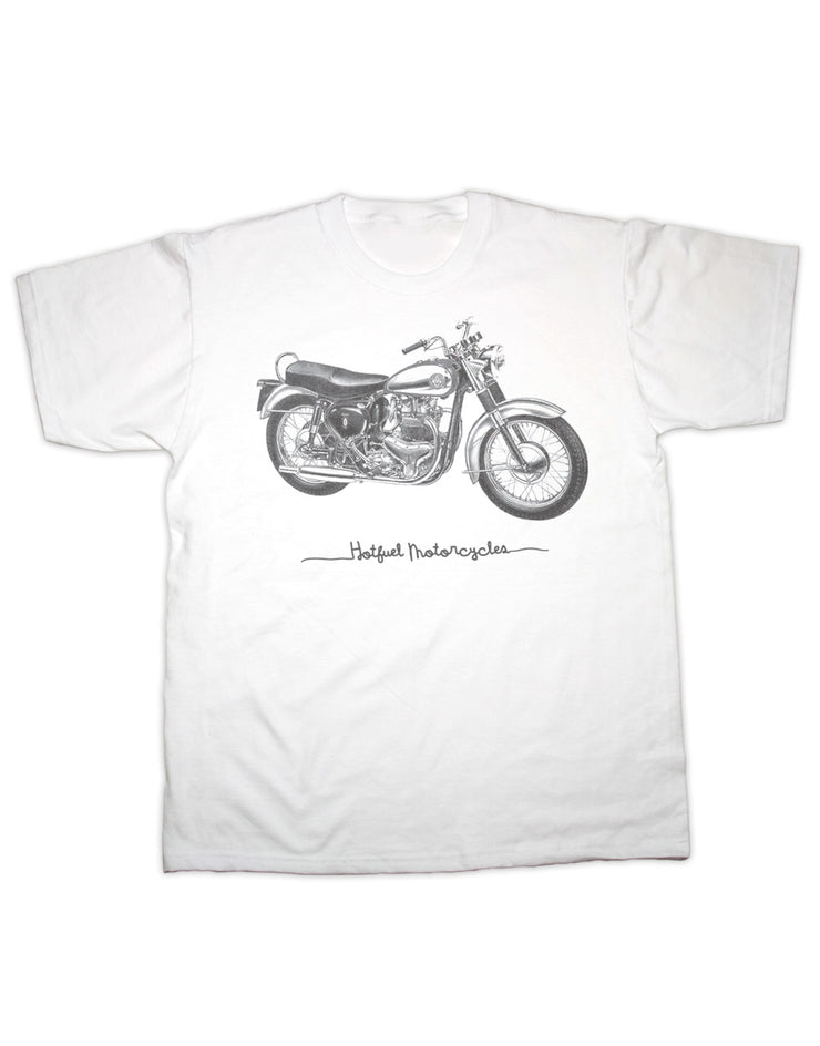 Hotfuel Motorcycles Bike T Shirt