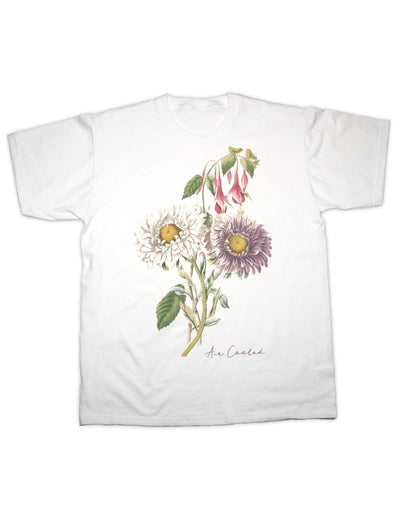 Air Cooled Botanical Print T Shirt
