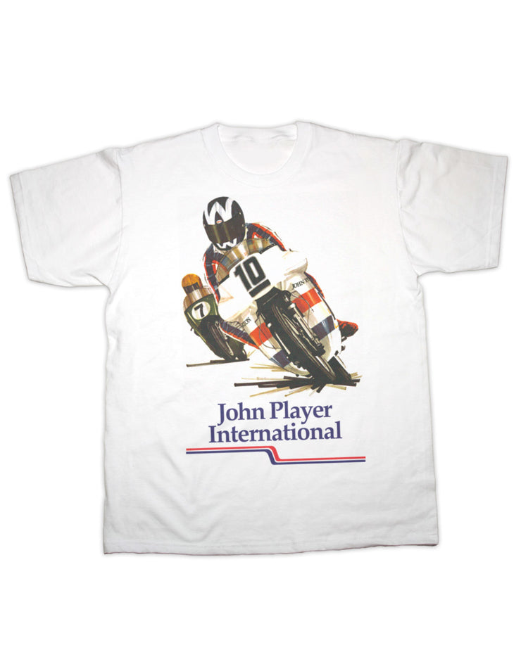 John Player Race Print T Shirt