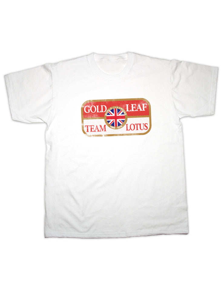 Gold Leaf Team Lotus T Shirt