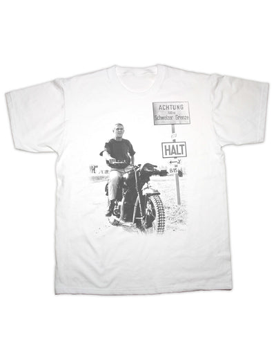 McQueen Great Escape Print T Shirt