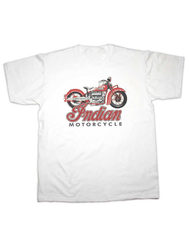 Indian Motorcycle Print T Shirt