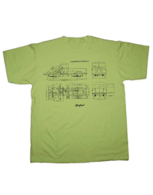 Series 2 Blueprint T Shirt
