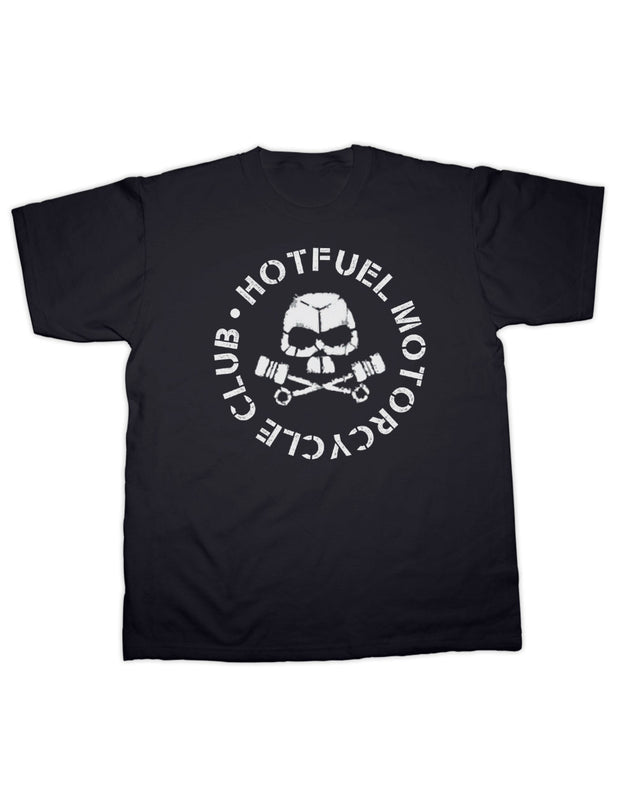 Hotfuel Motorcycle Club Skull T Shirt