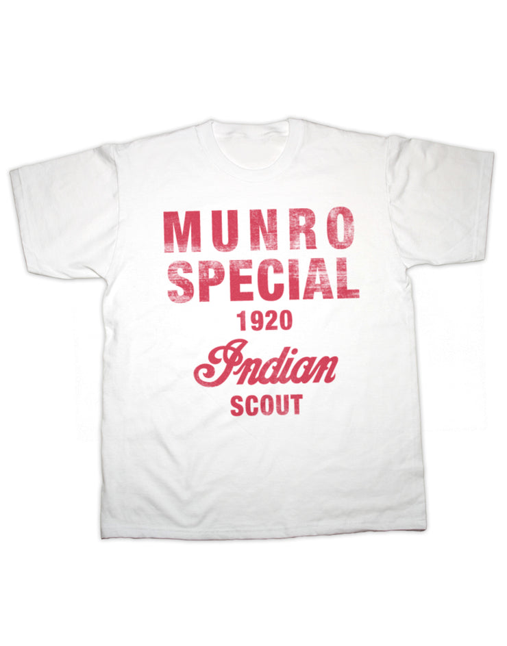 Munro Special Indian Scout T Shirt
