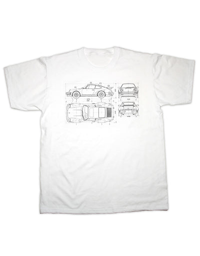 911 Blueprint T Shirt