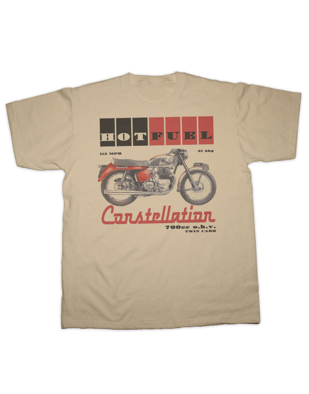 Hotfuel Constellation Motorcycle T Shirt