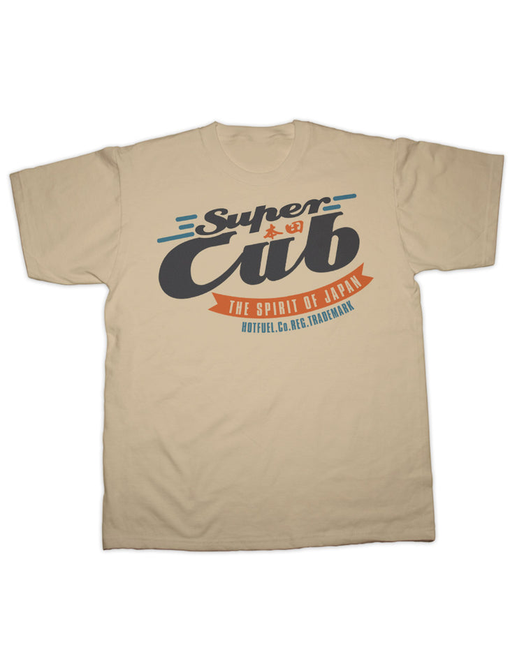 Super Cub Spirit of Japan T Shirt