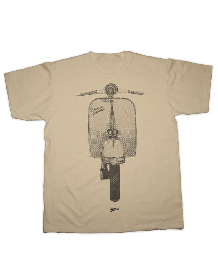 Italian Scooter Dot Print T Shirt