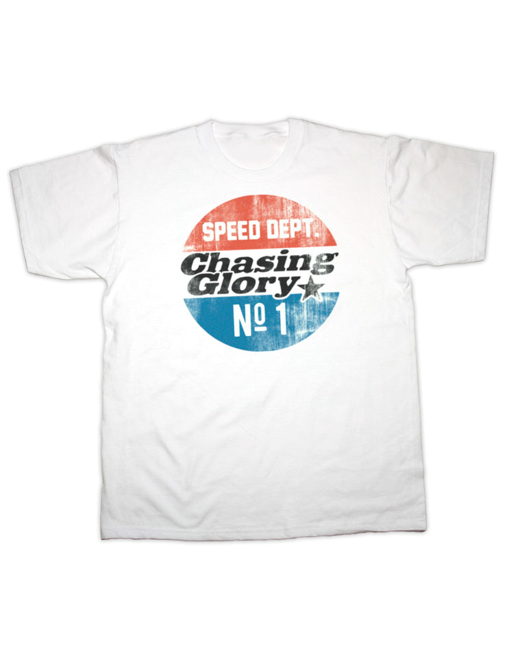 Chase Sharpe Speed Dept Adult T Shirt