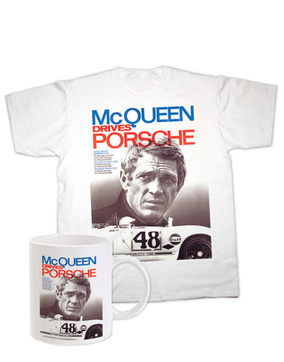 McQueen Drives Porsche Gift Set