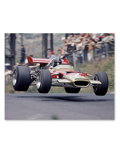 Graham Hill Lotus Wall Art