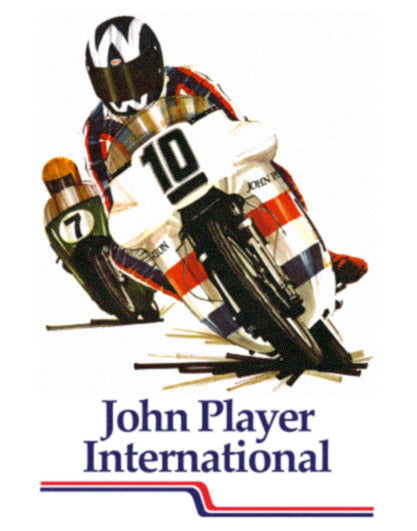 John Player International Bike Wall Art