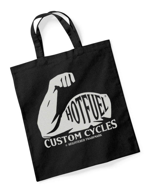 Hotfuel Custom Cycles Arm Cotton Tote Bag