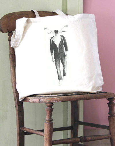 Scooter Head 3 Cotton Tote Bag