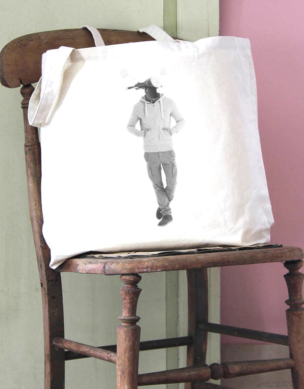 Scooter Head 1 Cotton Tote Bag