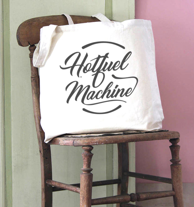 Hotfuel Machine Cotton Tote Bag