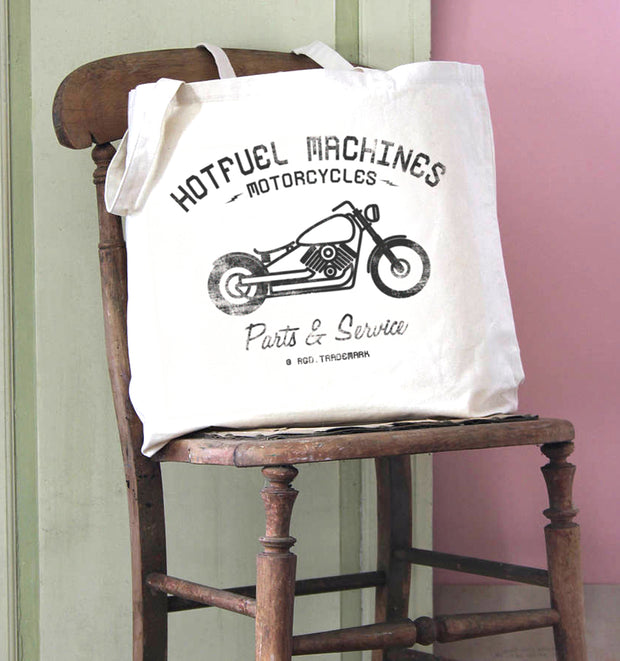 Hotfuel Machines Parts & Service Cotton Tote Bag