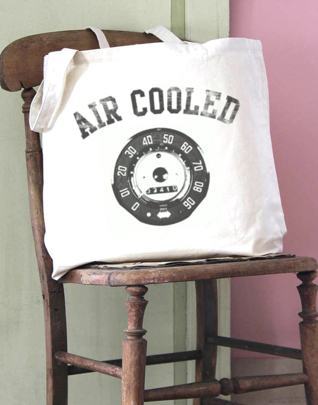 Air Cooled Speedo Cotton Tote Bag