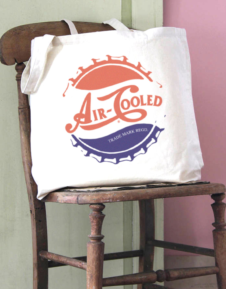 Air Cooled Cola Top Cotton Tote Bag