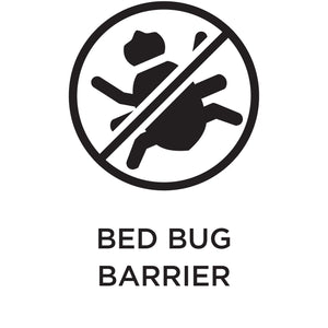 Bed bug barrier.