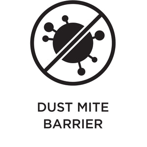 Dust mite barrier