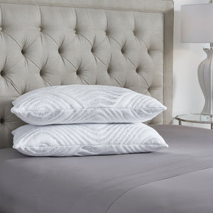 Kingsdown Fresh Start Deluxe 2-Pack Pillow Set with Cool Touch Fabric