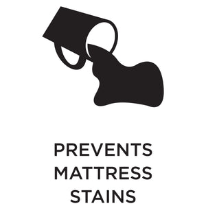 Prevents mattress stains