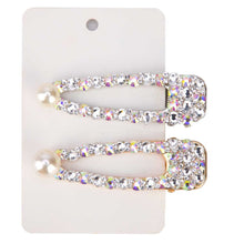 Load image into Gallery viewer, Rhinestone Hair Clips - Leux Belle